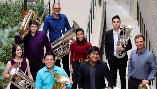 UCLA Tuba-Euphonium Ensemble IWBC Competition Image