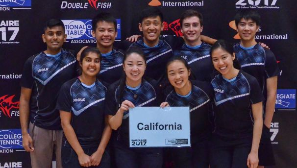 Cal Table Tennis | Road to NCTTA Regionals and Nationals! Image