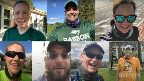 Faculty and Staff Run to Support Babson Students Image