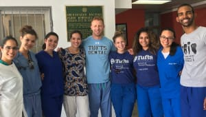 Tufts Dental Global Service Learning to DR