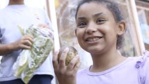 End Hunger in the Summer-Kids Market Program