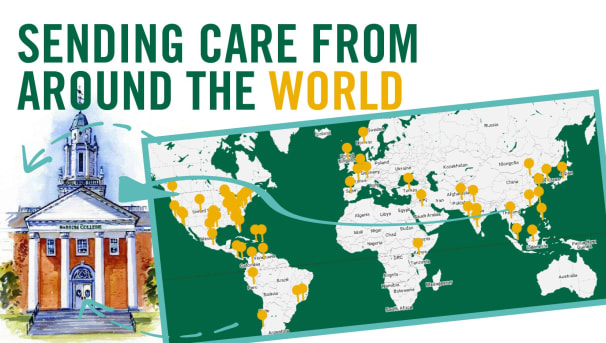 Alumni Around the World Care for Babson Students Image