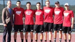 Support SHU Men's Tennis Team 100 Day Giving Challenge!