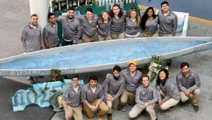 2020 ASCE Concrete Canoe Team