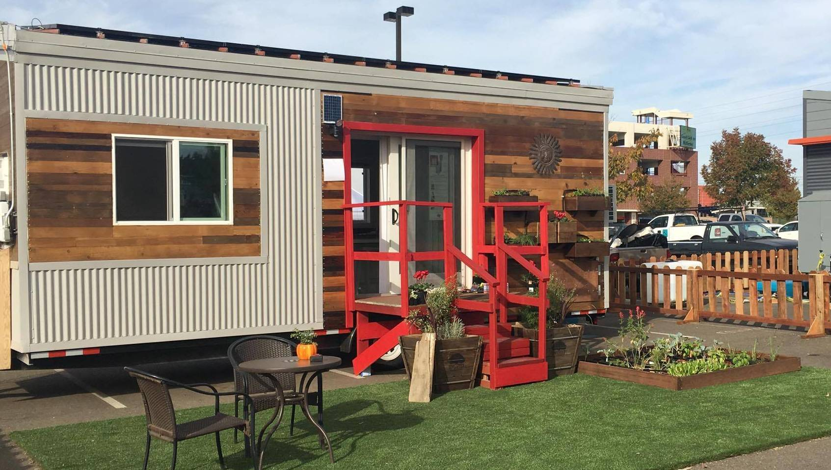 Fresno State Tiny House