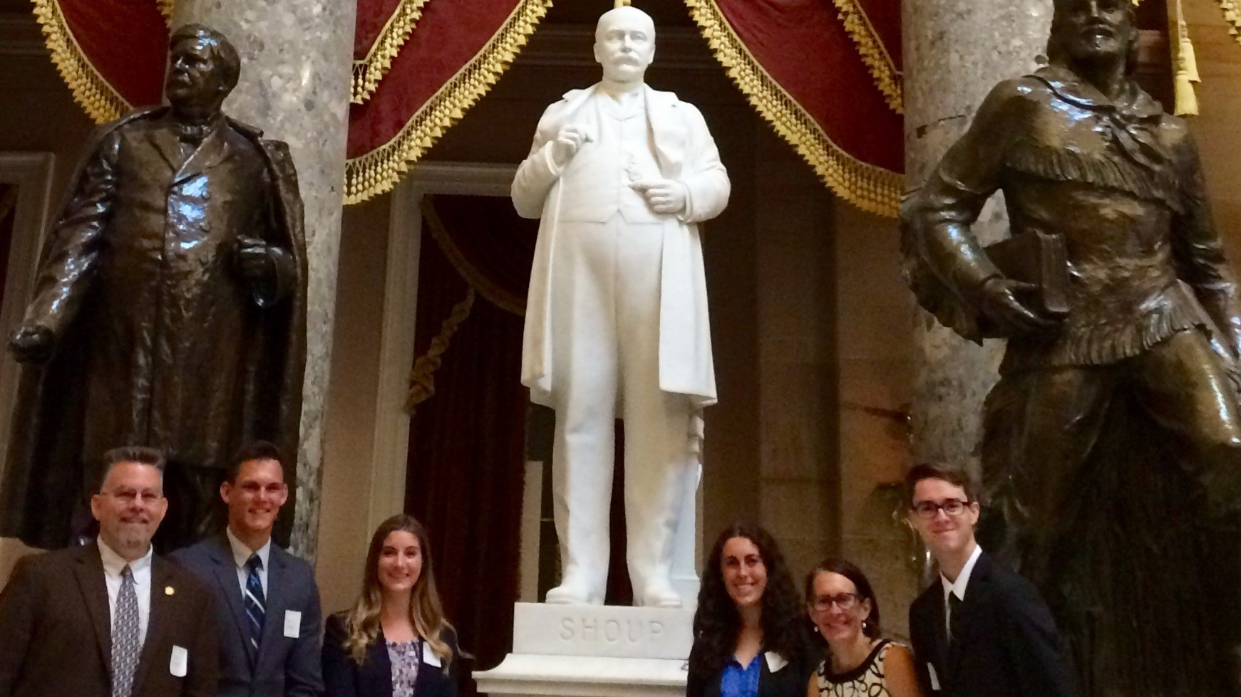 McClure Center and Martin Institute visit Sen. Risch, in Washington D.C. 2019