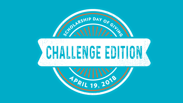 Scholarship Day of Giving: Challenge Edition Image