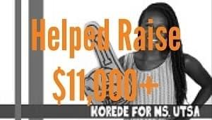 Korede - Ms. UTSA Candidate