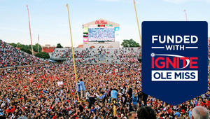 Ole Miss Football October 4, 2014 Victory Celebration