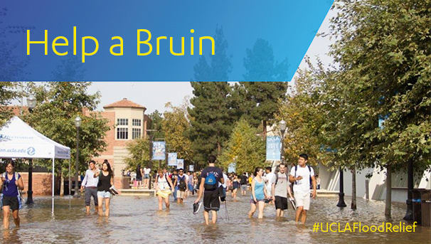 Help a Bruin - Chancellor's Emergency Flood Relief Fund Image