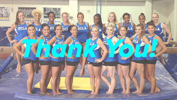 $150K in 30 Days for UCLA Gymnastics! Image