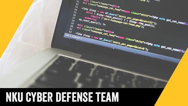 Funding the NKU Cyber Defense Team Image