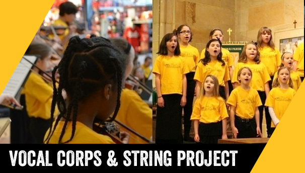 Corps Project: Funding NKU Vocal Corps and String Project Image