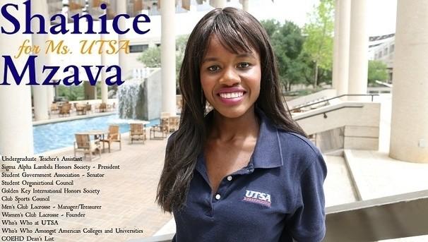 Shanice - Ms. UTSA Candidate Image