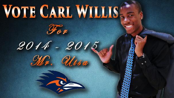 Carl - Mr. UTSA candidate Image