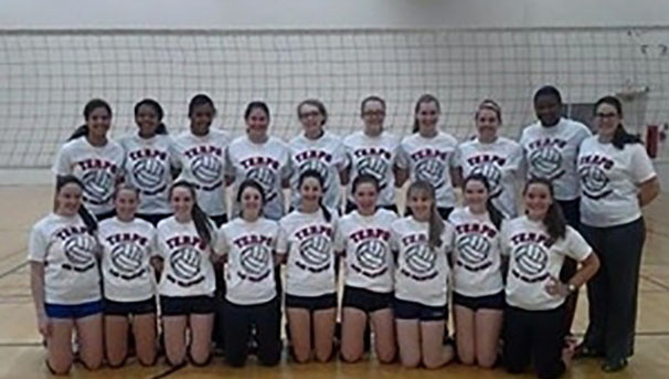UMD Women's Club Volleyball is Going to Nationals! Image