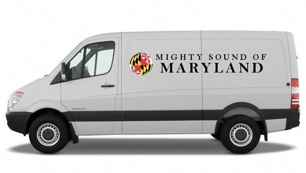 Mighty Sound of Maryland Band Van Image
