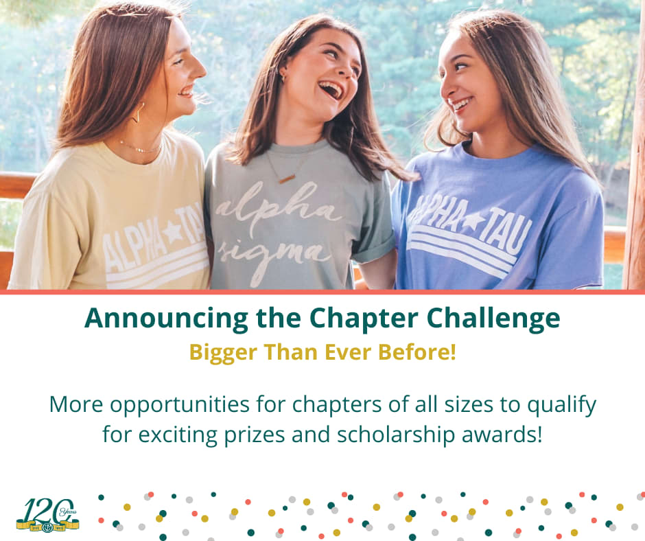 Image for Update: Announcing the Chapter Challenge