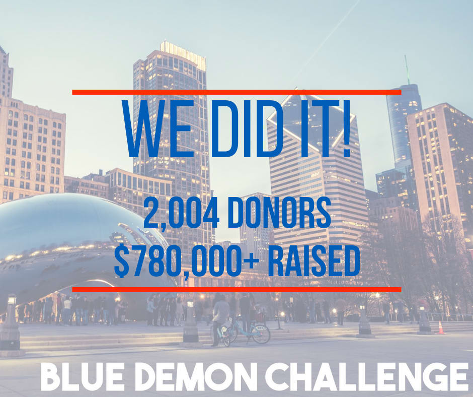Image for Update: What an amazing 36 hours for DePaul University!
