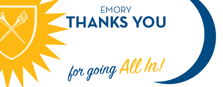 Image for Update: Thank you for being ALL IN for Emory!