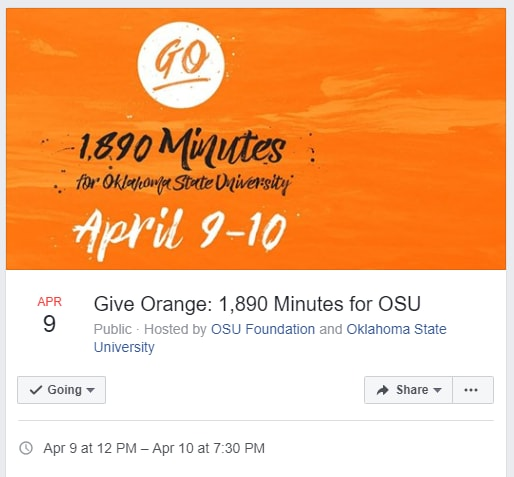 Image for Update: Follow #GiveOrange on Facebook