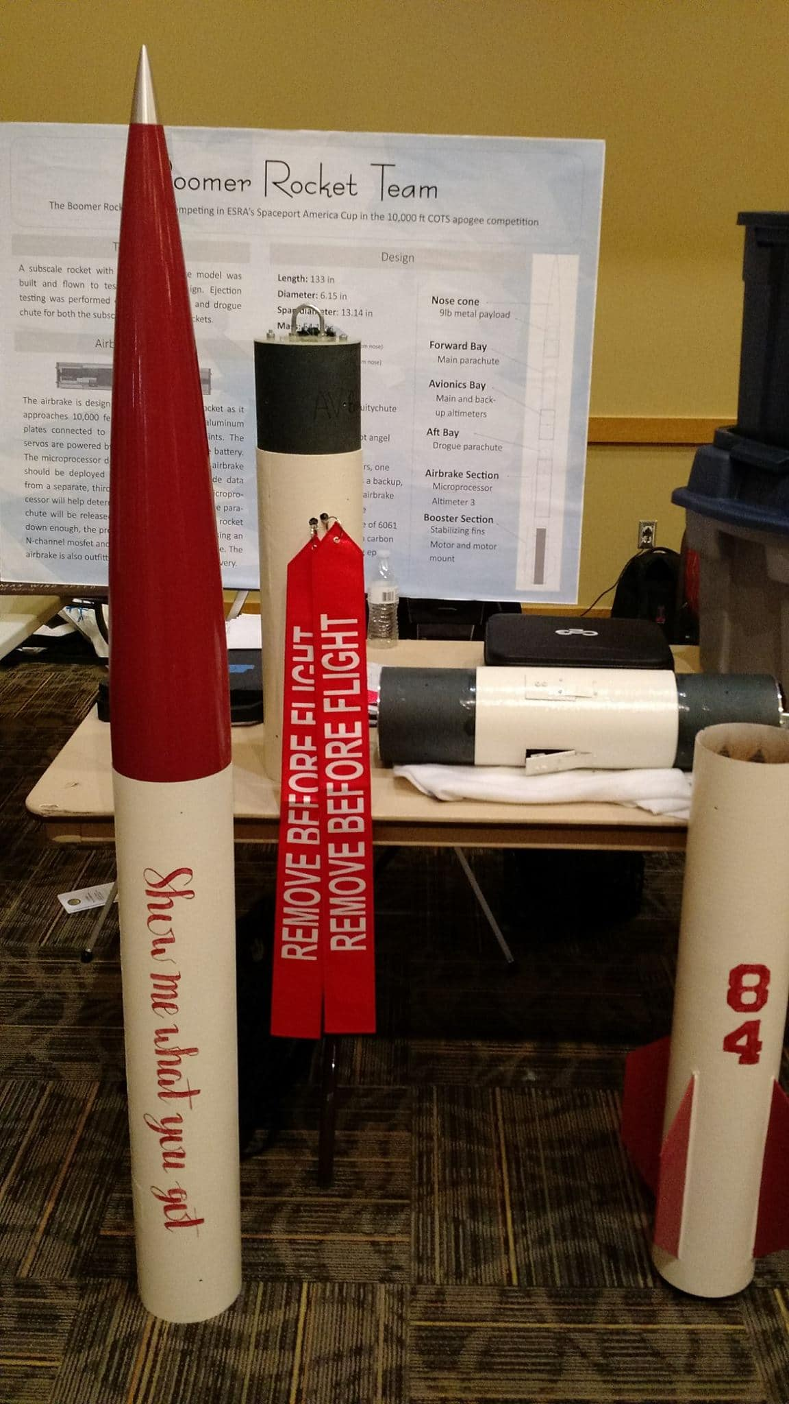 Past Projects | Boomer Rocket Team
