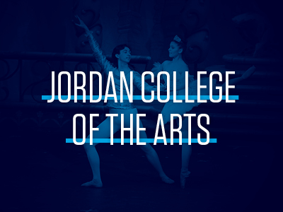 Jordan College of the Arts Tile Image