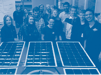 Bridger Solar Team Tile Image
