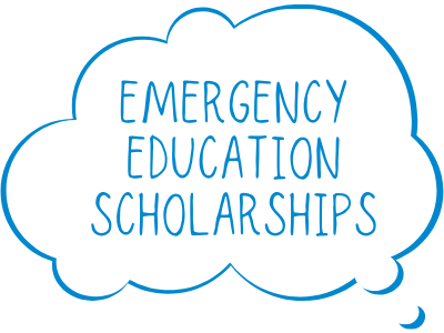 Emergency Education Scholarships Tile Image