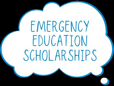 Emergency Education Scholarships Tile Image
