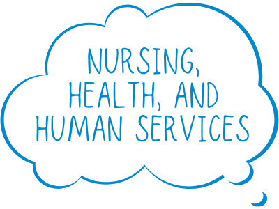 Nursing, Health, and Human Services Tile Image