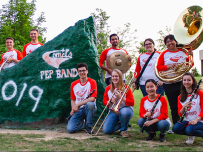 UT Dallas Pep Band Tile Image