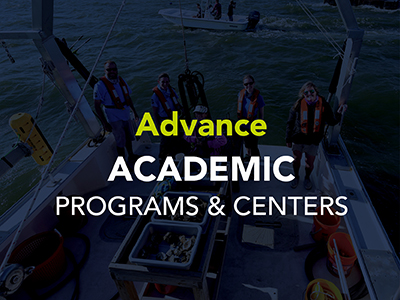 Advance Academic Programs & Centers Tile Image