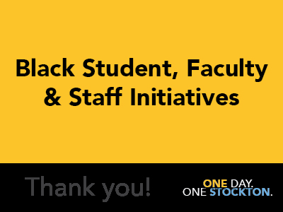 Black Student, Faculty & Staff Initiatives Tile Image