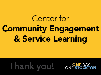 Center for Community Engagement & Service Learning Tile Image