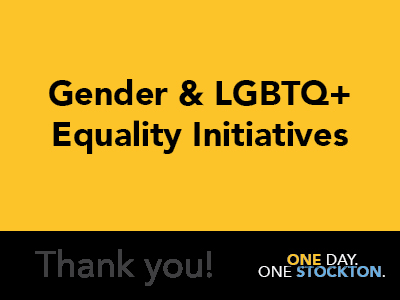 Gender & LGBTQ+ Equality Initiatives Tile Image