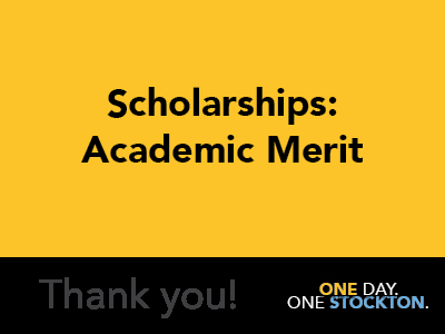 Scholarships: Academic Merit Tile Image
