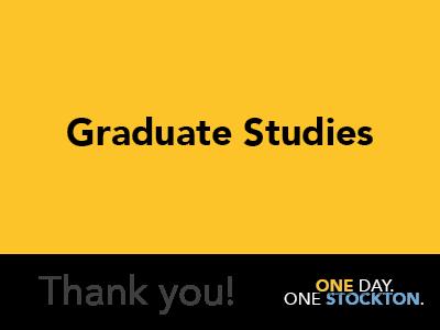 Graduate Studies Tile Image