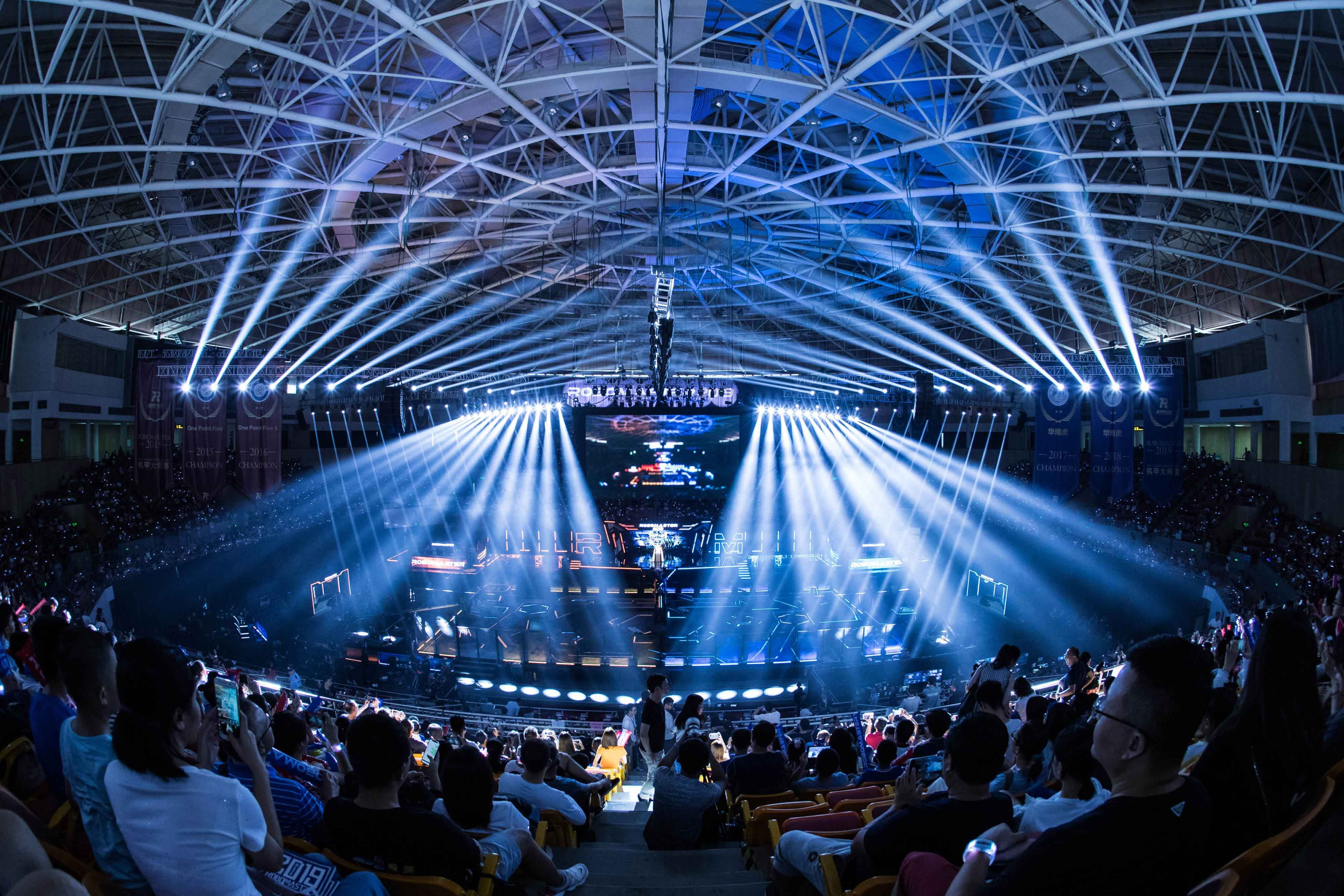 The 2019 RoboMaster Arena