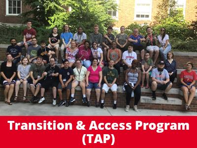 Transition & Access Program (TAP) Tile Image
