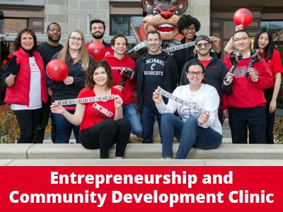 Entrepreneurship and Community Development Clinic Tile Image