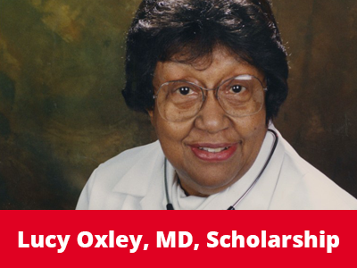 Lucy Oxley, MD, Scholarship Tile Image