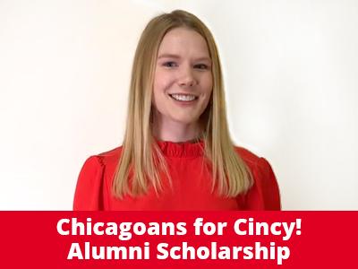 Chicagoans for Cincy! Alumni Scholarship Tile Image