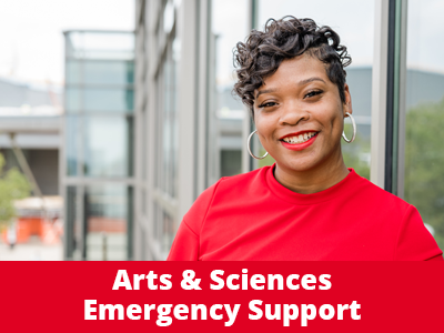 Arts and Sciences Emergency Support Tile Image