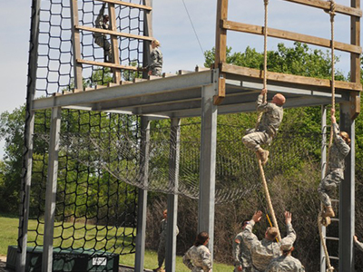 ROTC Obstacle and Physical Fitness Course Tile Image