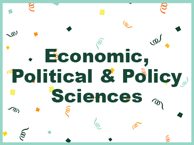 Economic, Political and Policy Sciences Tile Image