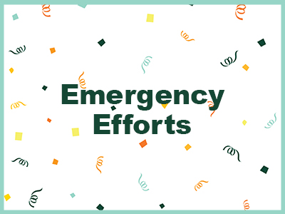 Emergency Efforts Tile Image