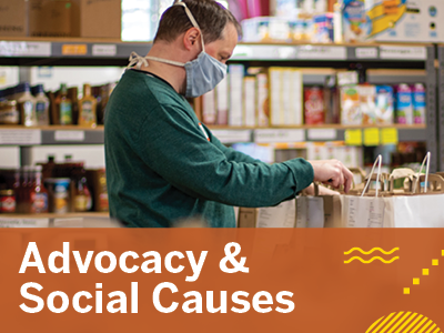Advocacy & Social Causes Tile Image