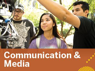 Communication & Media Tile Image