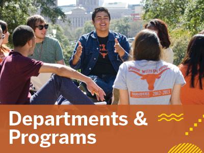Departments & Programs Tile Image